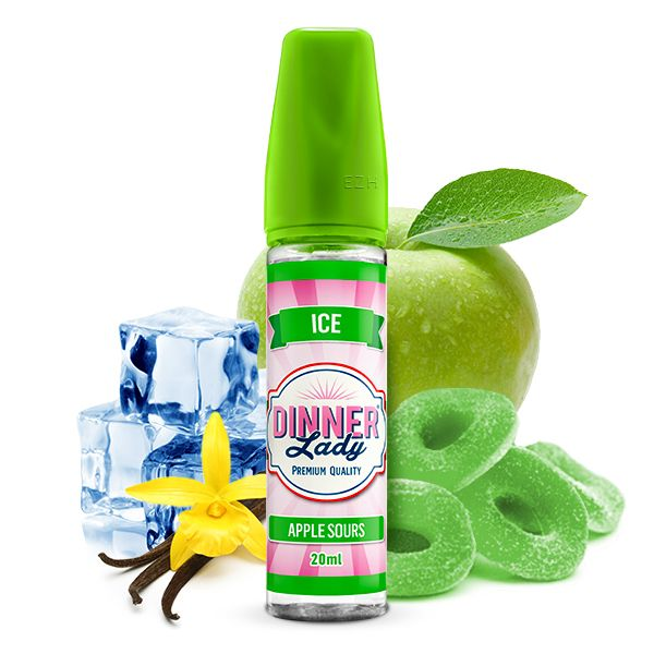 Dinner Lady Sweets Ice Aroma Apple Sours 20ml