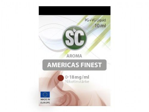 SC E-Liquid Americas Finest 10ml