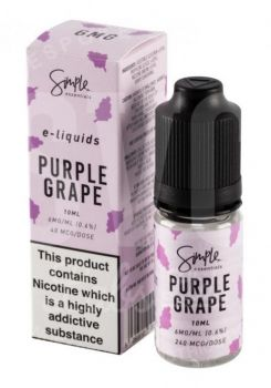 Simple Essentials Purple Grape E-Liquid 10ml