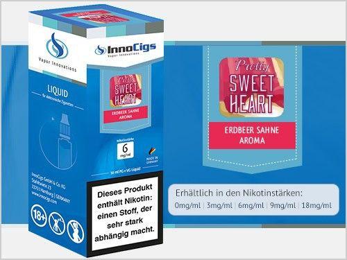 InnoCigs Pretty Sweetheart Liquid 10ml