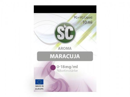 SC E-Liquid Maracuja 10ml