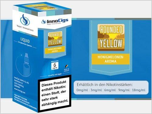 InnoCigs Rounded Yellow Liquid 10ml