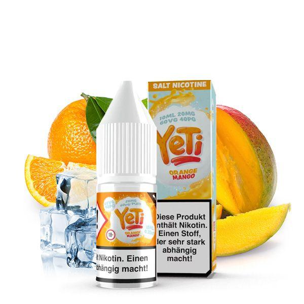 Yeti NicSalt Orange Mango 10ml