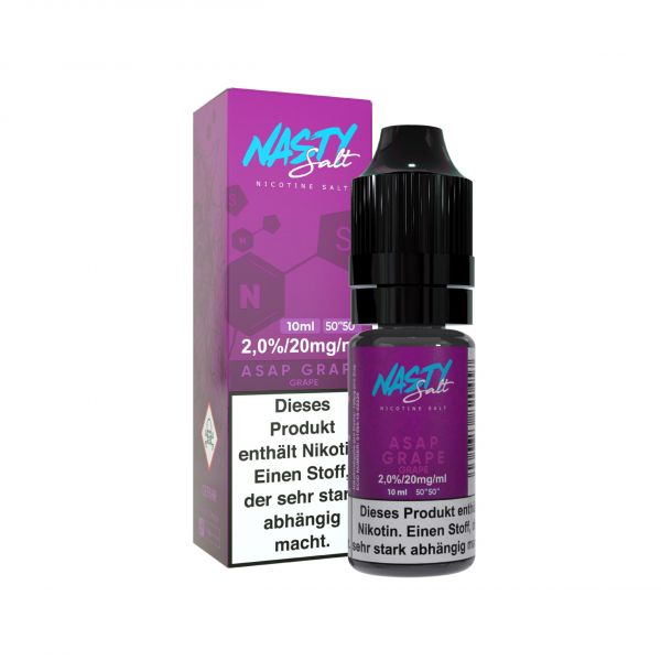 Nasty Juice NicSalt Asap Grape 10ml