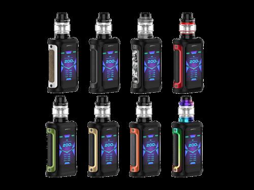 GeekVape Aegis X E-Zigaretten Set
