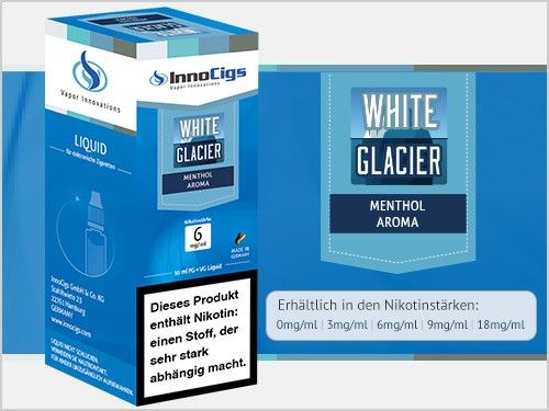 InnoCigs White Glacier Fresh Liquid 10ml