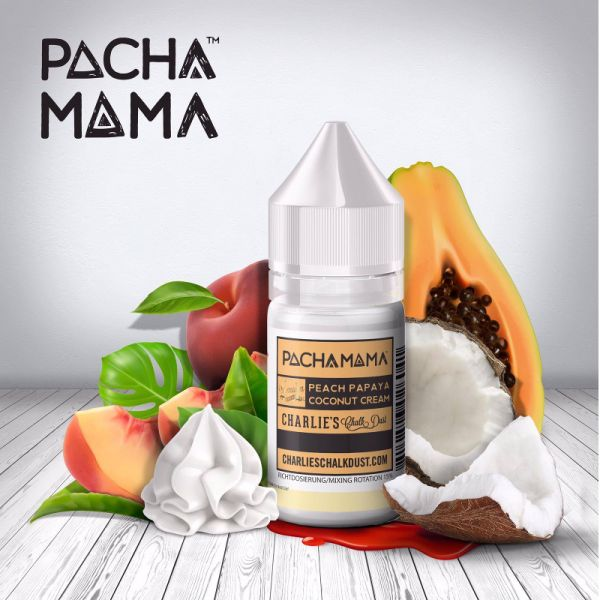 Charlie`s Chalk Dust Aroma Peach Papaya Coconut Cream 30ml