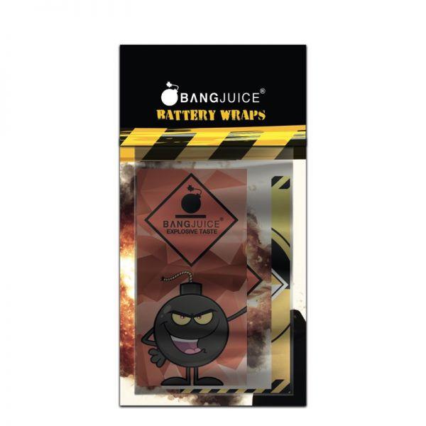 Bang Juice 18650 Battery Wraps 6 Stück