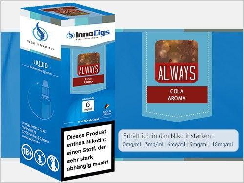 InnoCigs Always Liquid 10ml