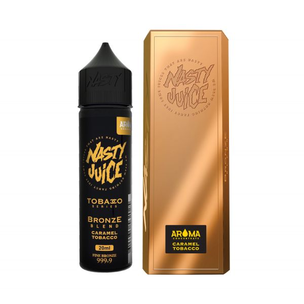 Nasty Juice Aroma Bronze Blend Caramel Tobacco 20ml