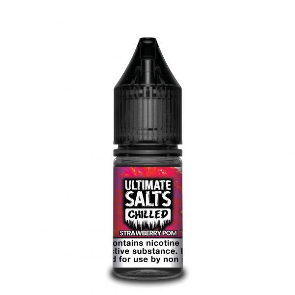 Ultimate Chilled NicSalt Liquid Strawberry Pom 10ml
