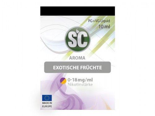 SC E-Liquid Exotische Früchte 10ml