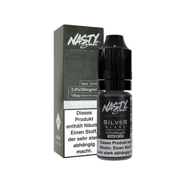 Nasty Juice NicSalt Silver Blend 10ml