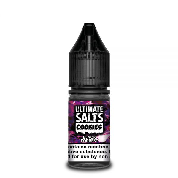 Ultimate Cookies NicSalt Liquid Black Forrest 10ml