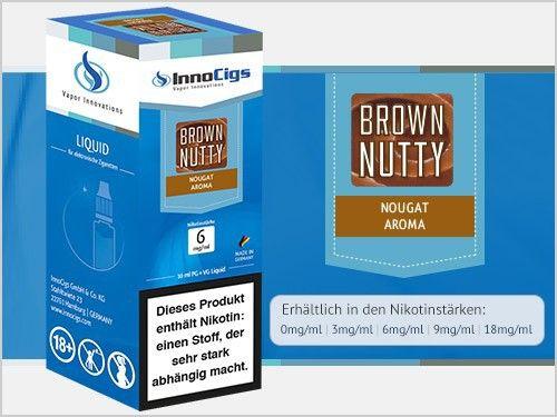 InnoCigs Brown Nutty Liquid 10ml