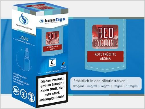 InnoCigs Red Cyclone Liquid 10ml