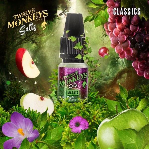 Twelve Monkeys NicSalt Matata 10ml